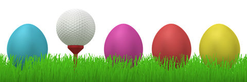 golfball easter eggs 13213373
